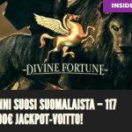 Suomalainen jackpotvoittaja