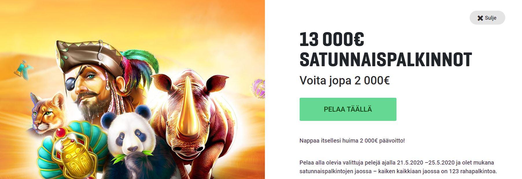 13 000 euroa - Gutsilla
